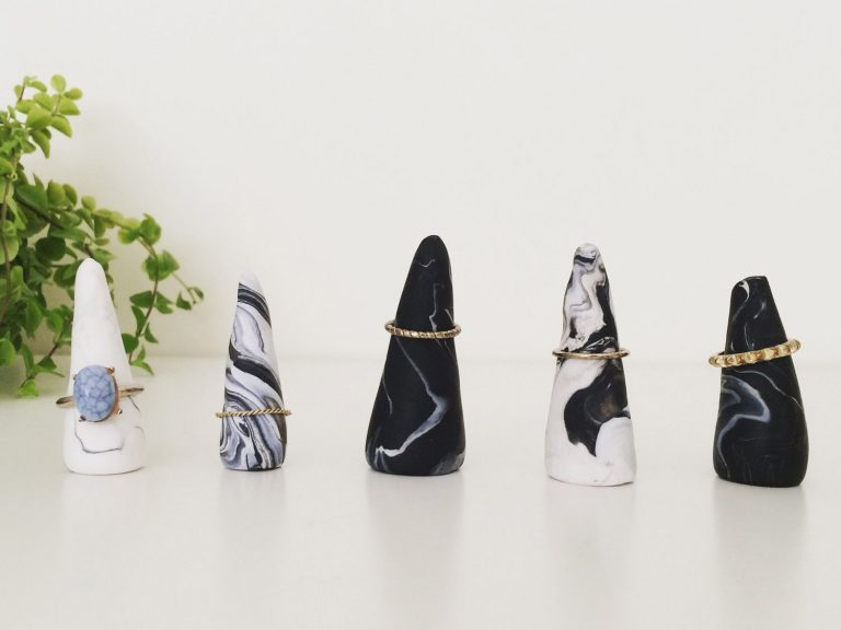 ring cone jewellery storage