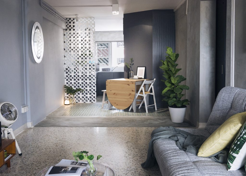 This 3 Room Hdb Flat Is Both Contemporary And Nostalgic