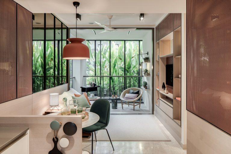 2-bedroom Showsuite, Park Place Residences.