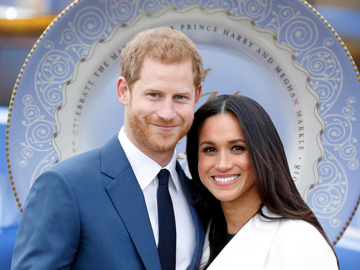 Official Wedding Photos.Prince Harry Meghan Markle S Official Wedding China