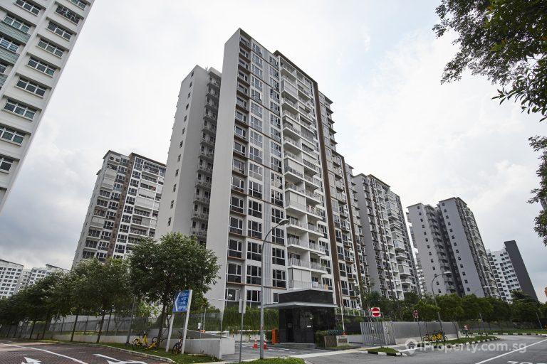 Exterior image of Ecopolitan building in Singapore