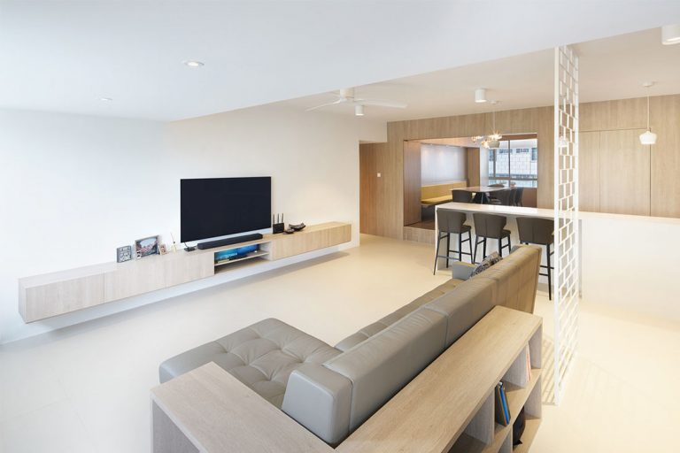 Living Room. Picture: Llark Architects
