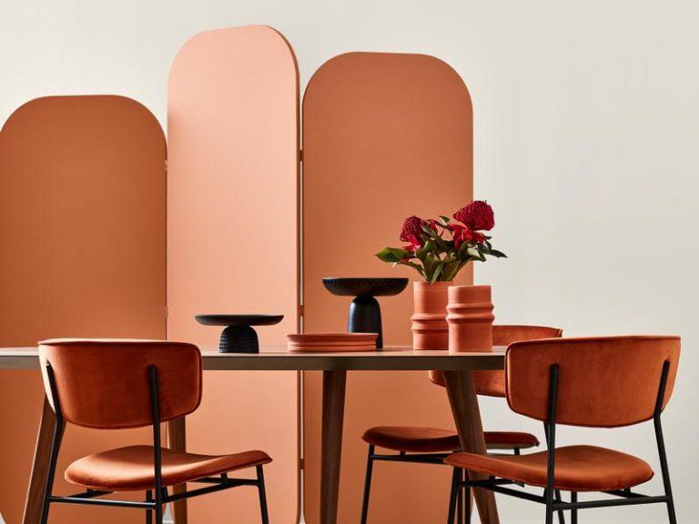 Orange tones are said to enhance creativity. Hello, big-ticket idea! Picture: Bree Leech / Mike Baker