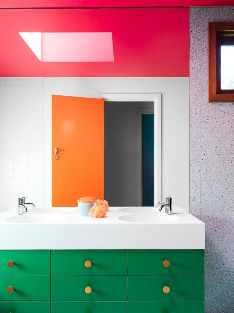 Bright colours spark creativity. Picture: WOWOWA Architecture / Martina Gemmola