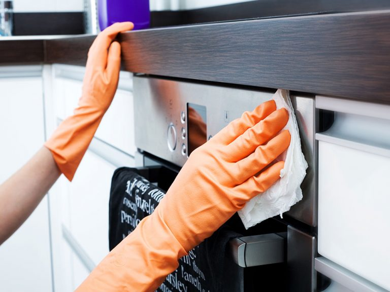 Be sure to use microfibre cloths when cleaning your appliances. Picture: Getty