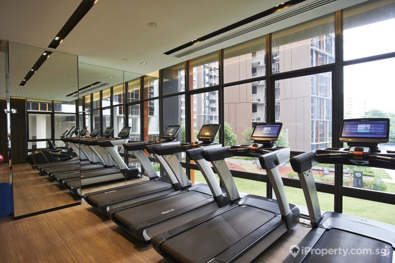 gym in sims urban oasis condo in singapore