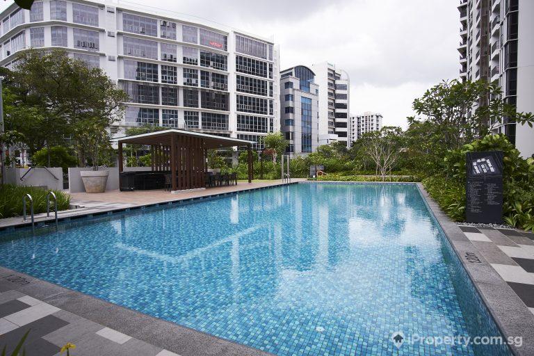 swimming pool in sims urban oasis condo in singapore