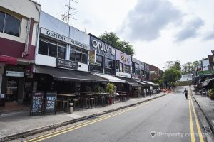 Choices of bars and restaurants in Holland Village. Picture: iProperty