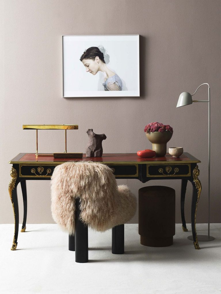 Softer, more feminine shapes are creating impact with interiors.