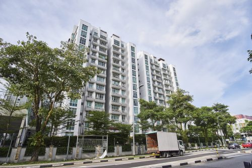exterior image of lilydale condo in singapore, yishun.