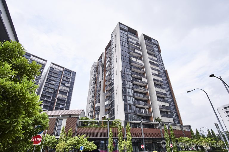 The exterior building image of the condo, the venue residence in potong pasir.