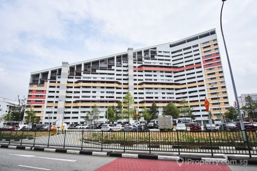 the unique hdb building in potong pasir