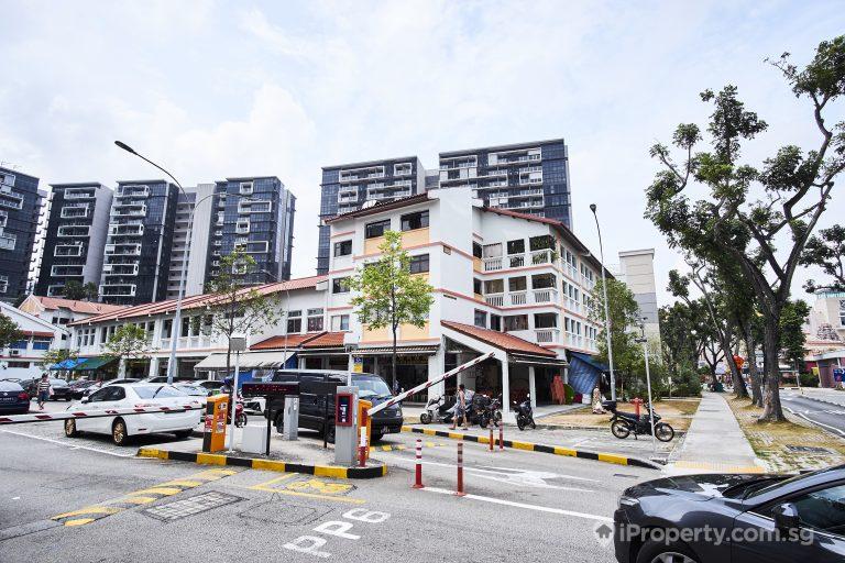 car park facing hdb building in potong pasir avenue 2