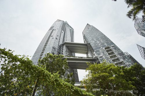 exterior of reflections at keppel bay condo in singapore
