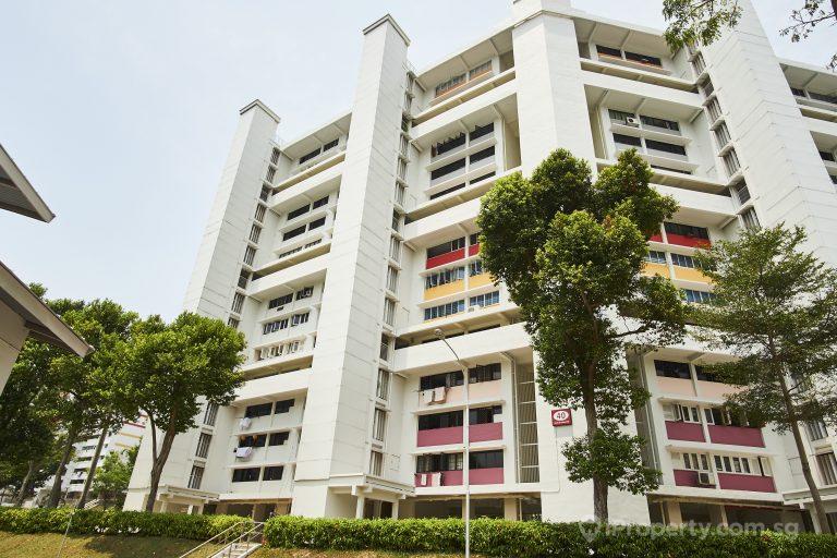 hdb of block 40 telok blangah rise in singapore