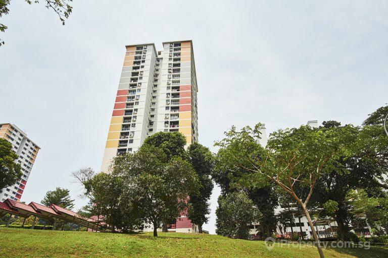 hdb of block 37 telok blangah rise in singapore