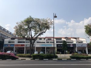 Ground floor shop units in Siglap Shopping Centre.