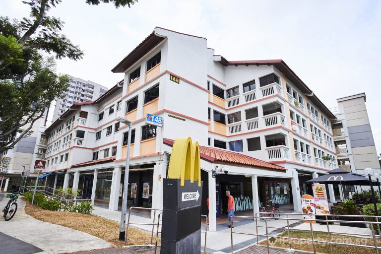 four storey HDB building near McDonald's in potong pasir avenue 2