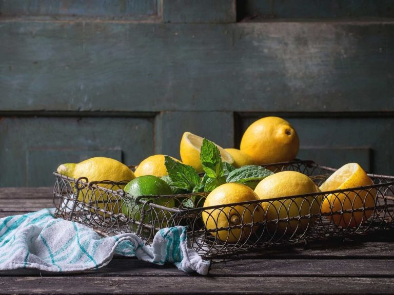 Finish off with a squeeze of lemon for final sanitation and natural deodorising. Picture: Getty