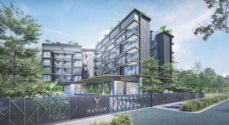 The Navian condo