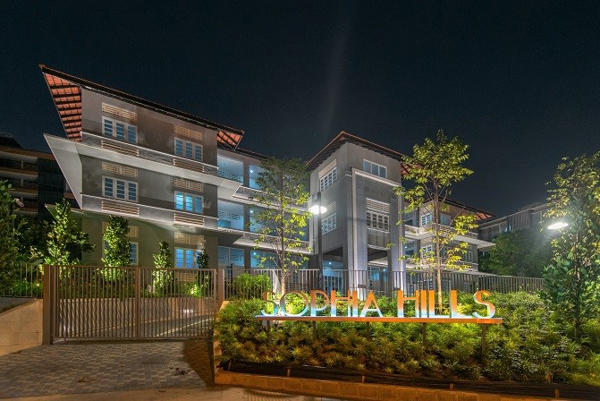 Sophia Hills in District 9 won the Heritage and Residential (mid-rise) at the Singapore Property Awards 2019 and qualified for FAIBCI d'Excellence 2020.