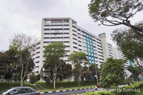HDB in Block 266 Bukit Batok East Ave 4. Picture: iProperty