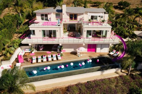 You and three friends can stay in Barbie's Malibu Beach home. Picture: Barbie Media