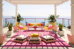 Stunning views from the entertaining balcony. Picture: Barbie Media