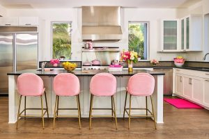 It comes with a fully-stocked kitchen. Picture: Barbie Media