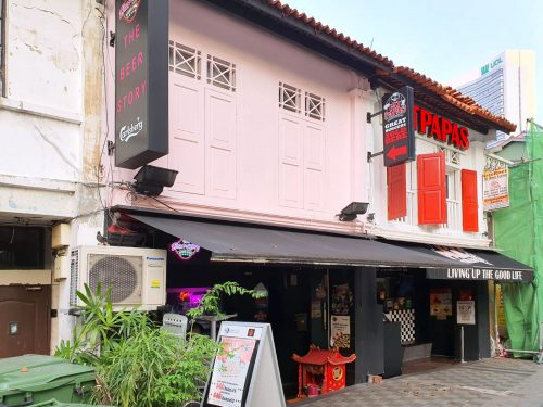 18 Bali Lane shophouse. Picture: Knight Frank Singapore