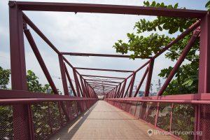 Bridge in Lorong Halus Wetland. Picture: iProperty