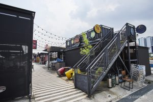 Plenty of F&B options in the Punggol Container Park. Picture: iProperty
