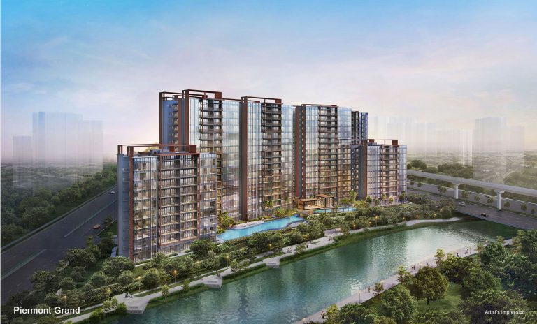 Artist impression of Piermont Grand condo