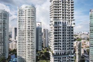 View from unit in 8 St Thomas condo. Picture: iProperty