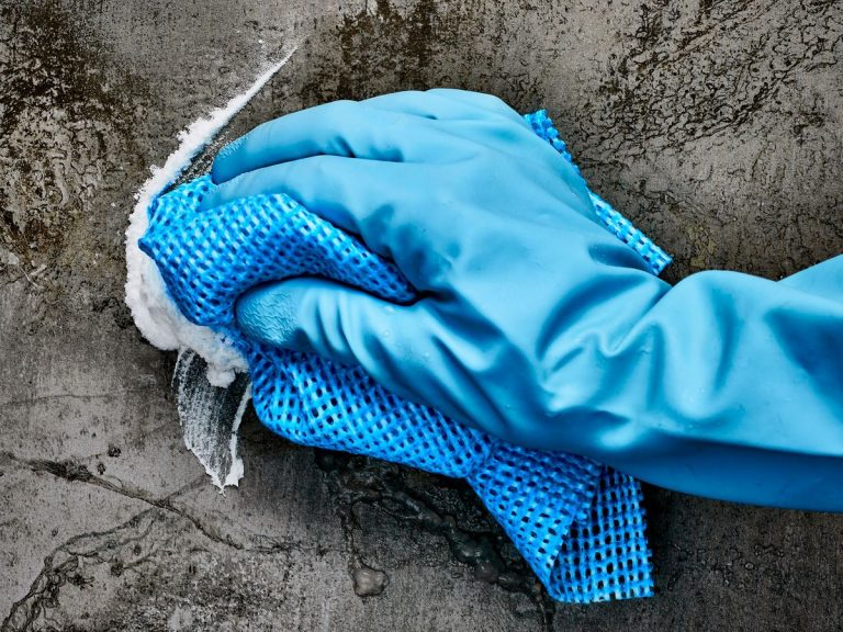 Your trusty cleaning cloth could be carrying around nasty bugs. Picture: Ross Campbell