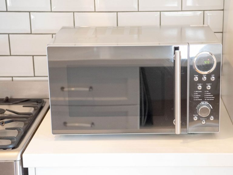 The trusty microwave could be the answer to keeping bugs at bay in the kitchen. Picture: Erinna Giblin