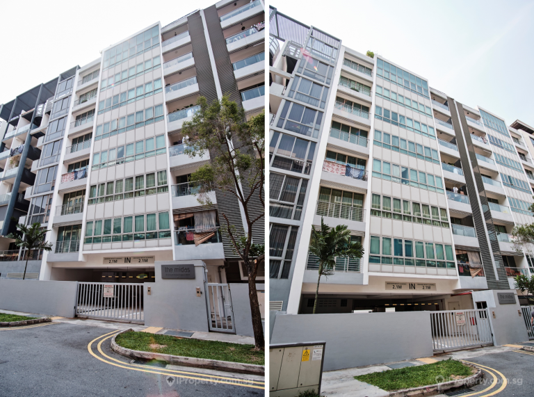 Exterior of The Midas condo in Singapore. Picture: iProperty