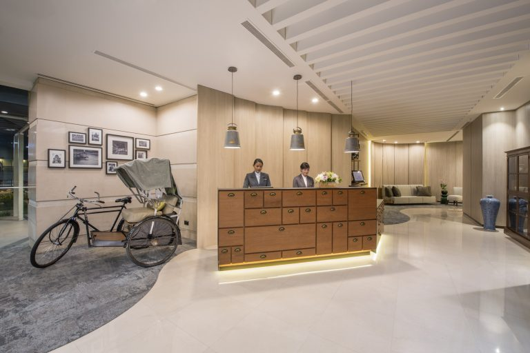 Somerset Liang Court Singapore, Lobby. Picture: Ascott Residence Trust.