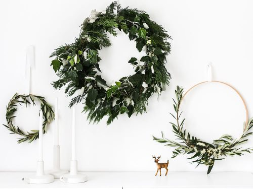 Pared-back Christmas decorations are the trend predicted to take over homes. Picture: Getty