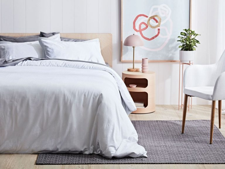 There's nothing like the smell of fresh sheets when you fall into bed at night. Picture: Canningvale Australia