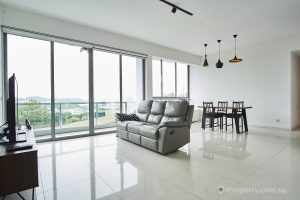 A unit in one-north residence condo. Picture: iProperty