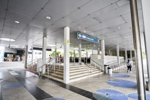 Potong Pasir MRT station entrance. Picture: iProperty