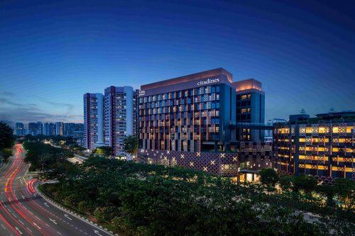Citadines Rochor Singapore facade. Picture: Ascott