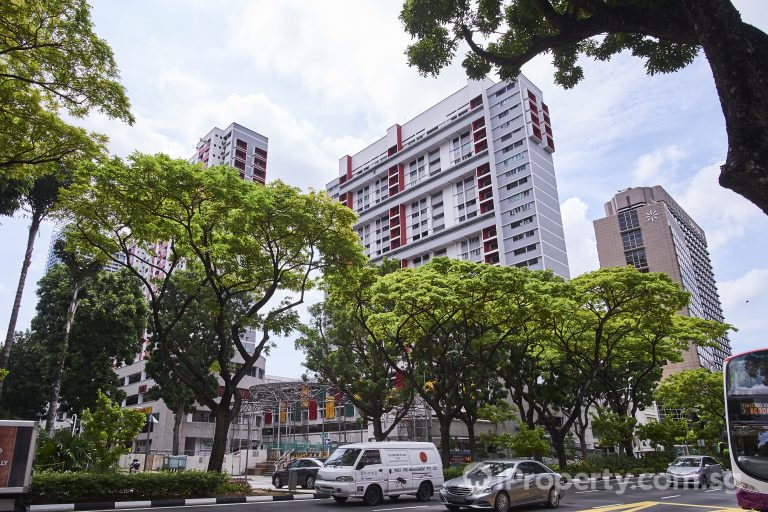 HDB in Bras Basah Complex. Picture: iProperty