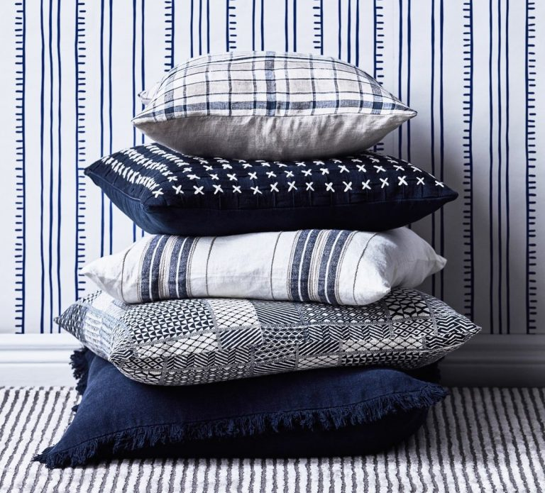 Classic Blue can be used as an accent in soft furnishings. Picture: Early Settler
