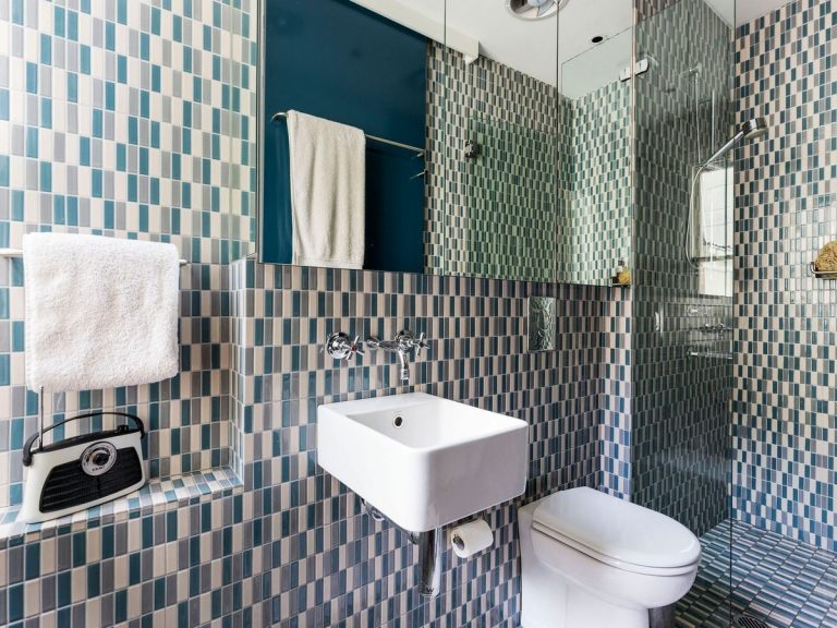 Pattern tiles will be big in 2020. Picture: realestate.com.au