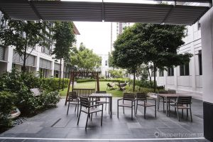 Seating area in Yale NUS. Picture: iProperty