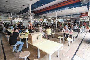 Seating Area in Pasir Panjang Food Centre. Picture: iProperty