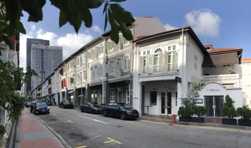 Street view of shophouses along Tras Street. Picture: CBRE