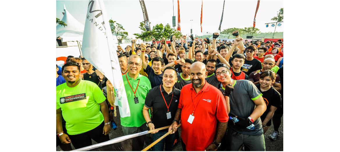 Sunway Property debuts 'Sunway Iskandar Viper Challenge @ Medini' in Johor